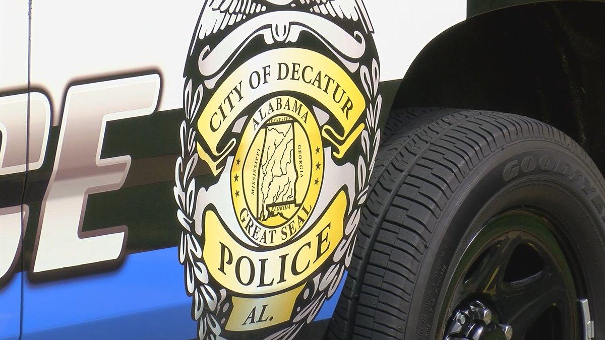Decatur police car