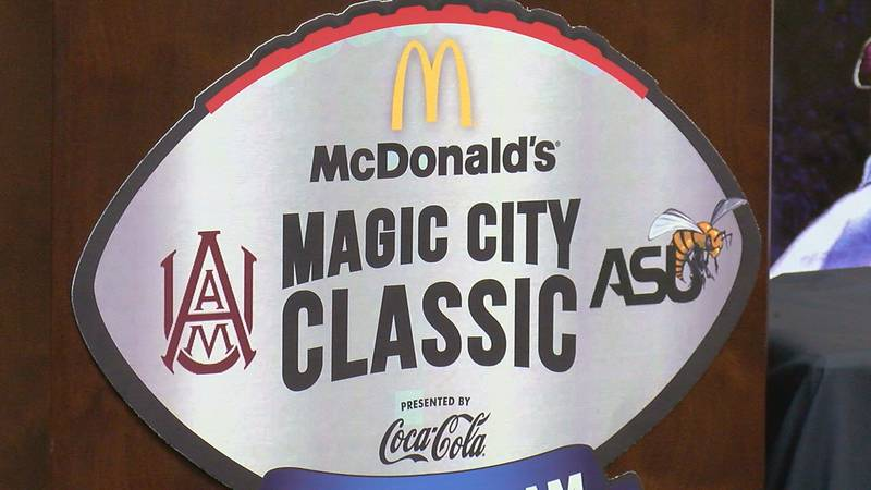 The Magic City Classic is scheduled for Saturday October 27th at 2:30pm.