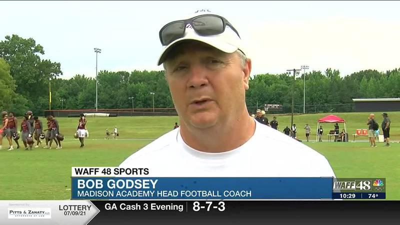 Crimson Tide recruits, Madison Academy Coach talks upcoming football season