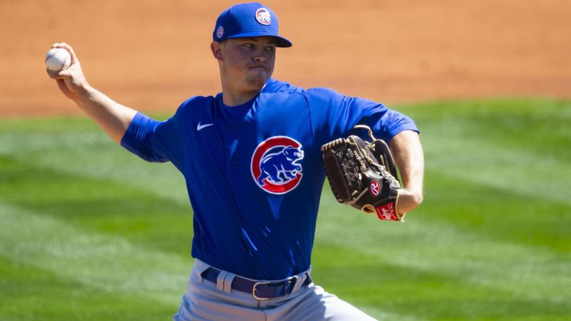 Former Auburn pitcher Keegan Thompson has been called up to the Chicago Cubs after being added...