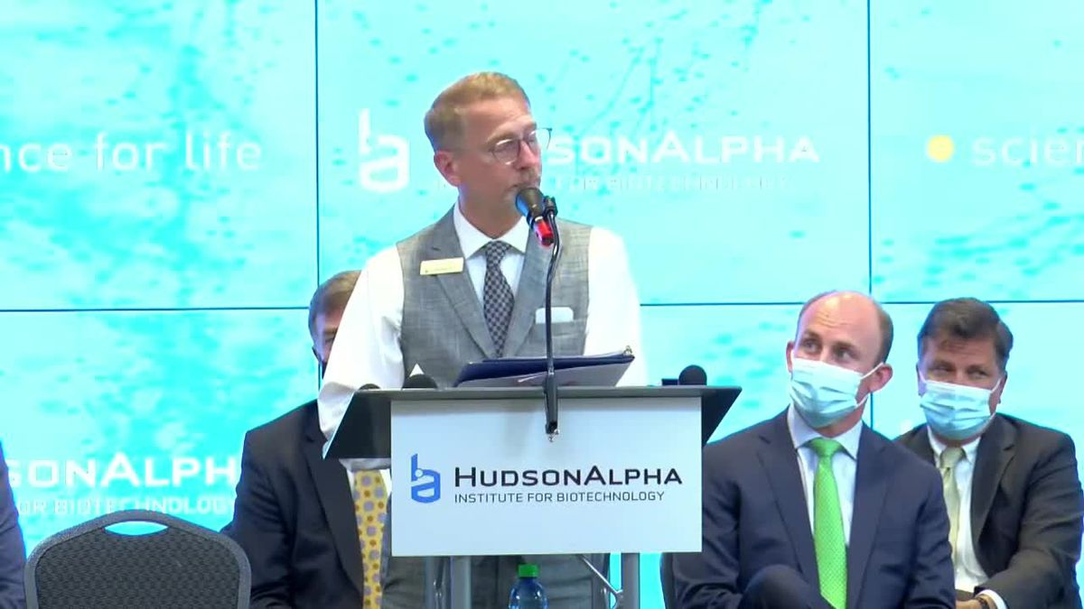 HudsonAlpha Institute for Biotechnology breaks ground for campus expansion