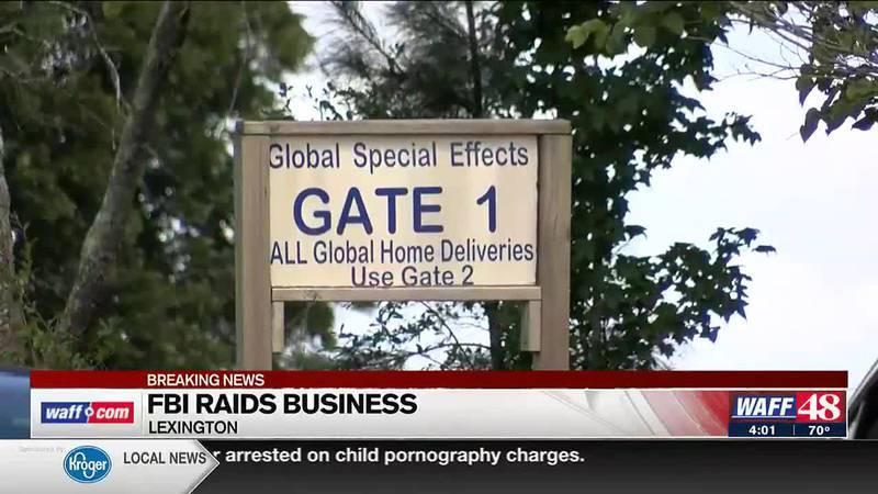 FBI raids Global Special Effects