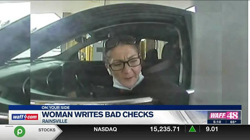 Woman writes bad checks in Rainsville