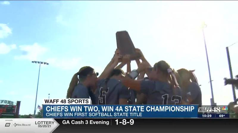 North Jackson Chiefs win first ever State Softball Title!