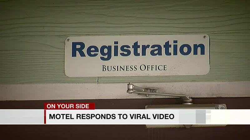 Motel responds to viral video