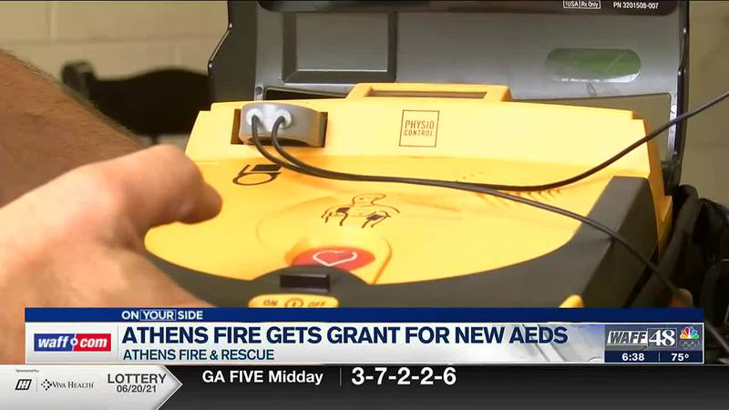Athens Fire gets grant for new AEDs