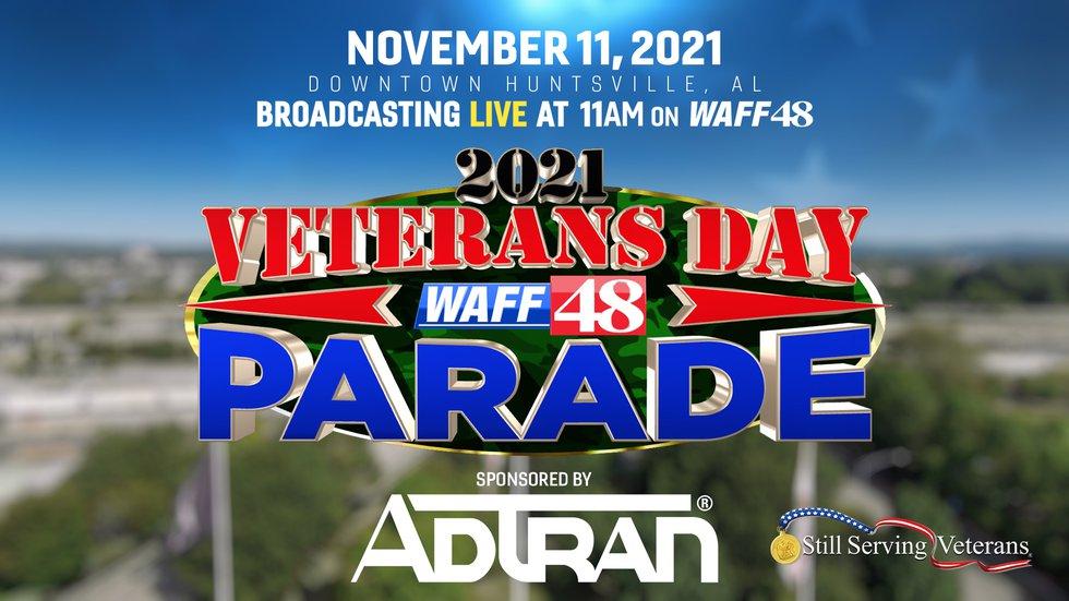 WAFF's 2021 Vets Parade