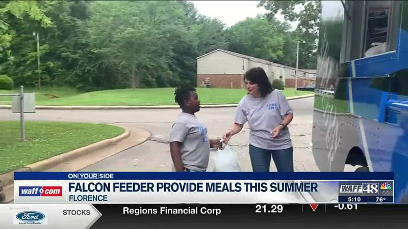The Falcon Feeder is providing free meals this summer