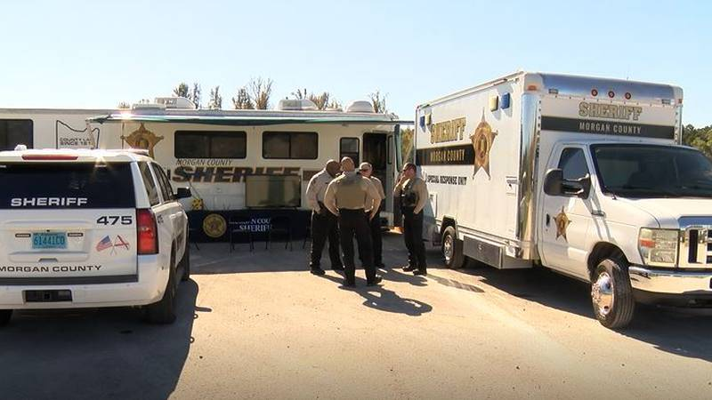 With its mobile command center, sheriff's deputies and investigators are able to collect real...