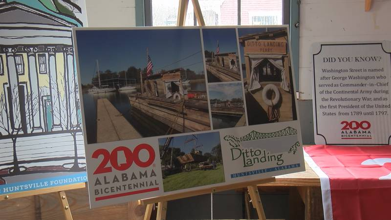 A yearlong celebration of Alabama's bicentennial is happening in Huntsville.