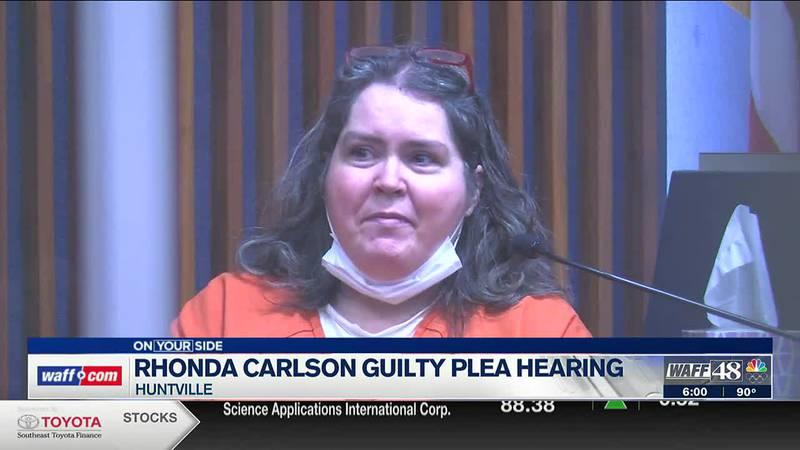 Rhonda Carlson guilty plea hearing
