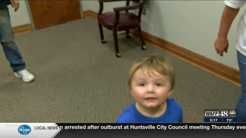 Alabama bus driver saves choking 2-year-old