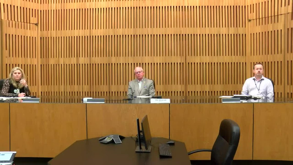 Decatur and Morgan County Officials at Monday's COVID-19 presser.