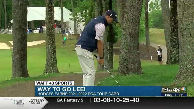 Lee Hodges on PGA tour, north Alabama natives headed to World Series, NASCAR win and more