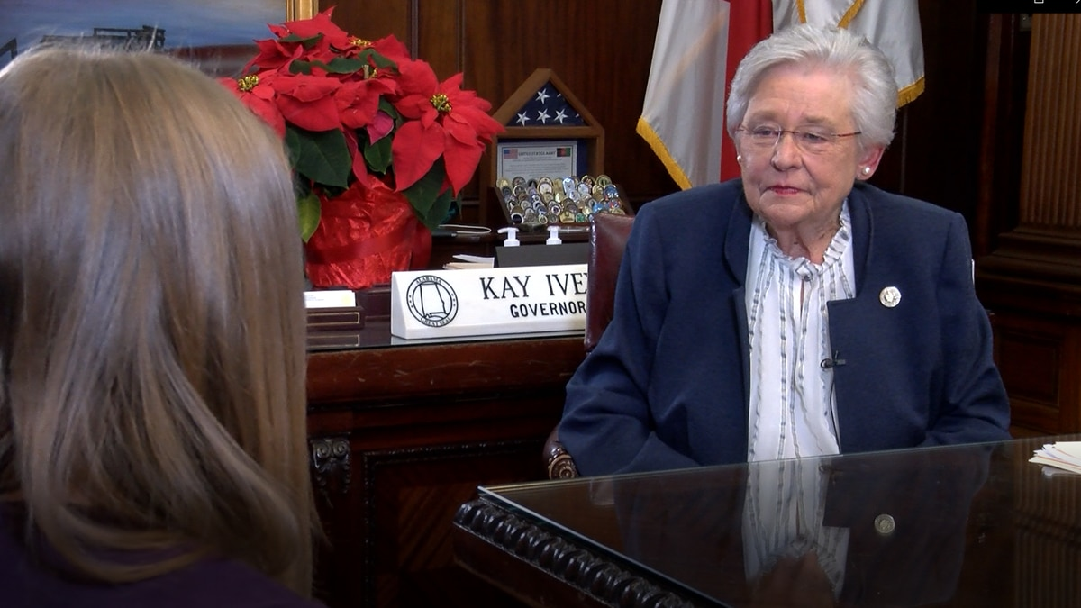 Gov. Kay Ivey talked with WSFA in a one-on-one interview.