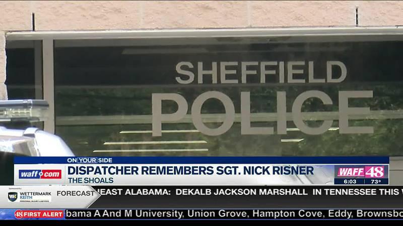 Dispatchers remembers Sgt. Nick Risner