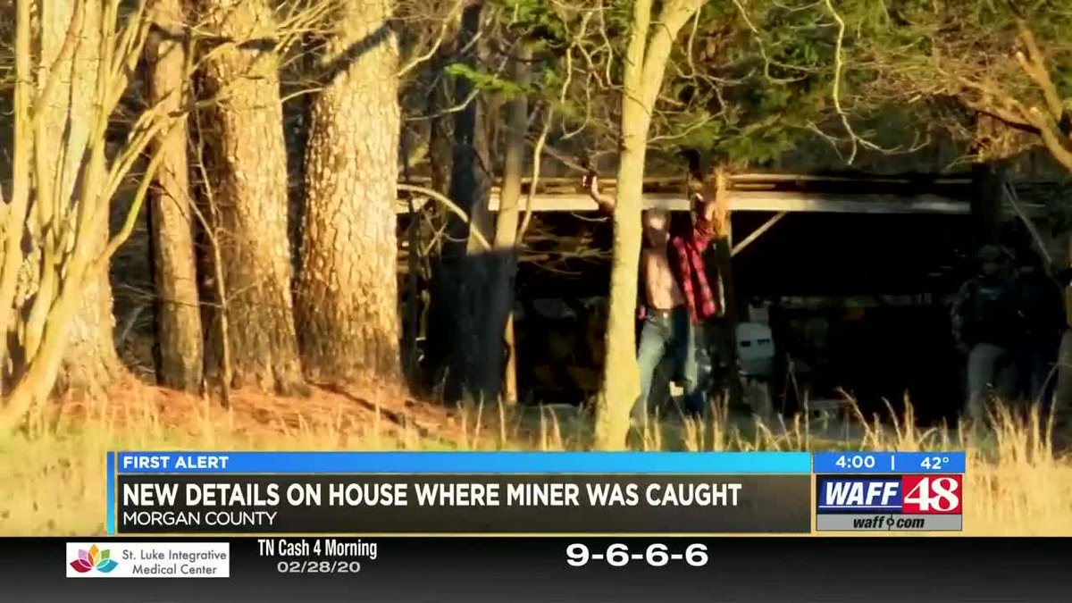 New details on the home where Daniel Miner was caught