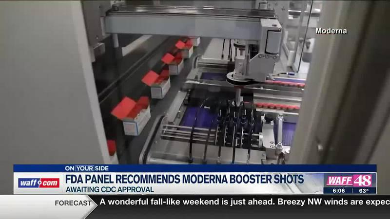 FDA panel recommends Moderna booster shots