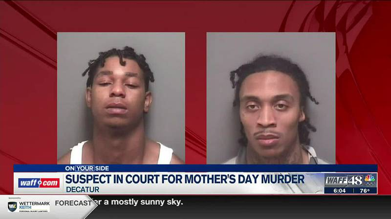 One suspect in court for Mother's Day murder