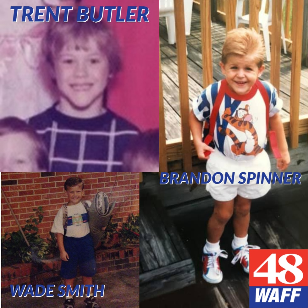 Trent Butler, Brandon Spinner & Wade Smith show off first days of the past