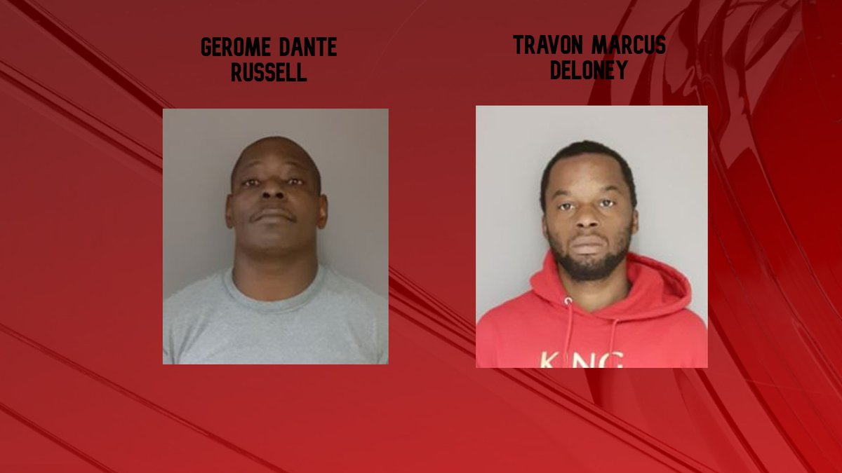 The Decatur Police Department arrested these two men after a robbery investigation.