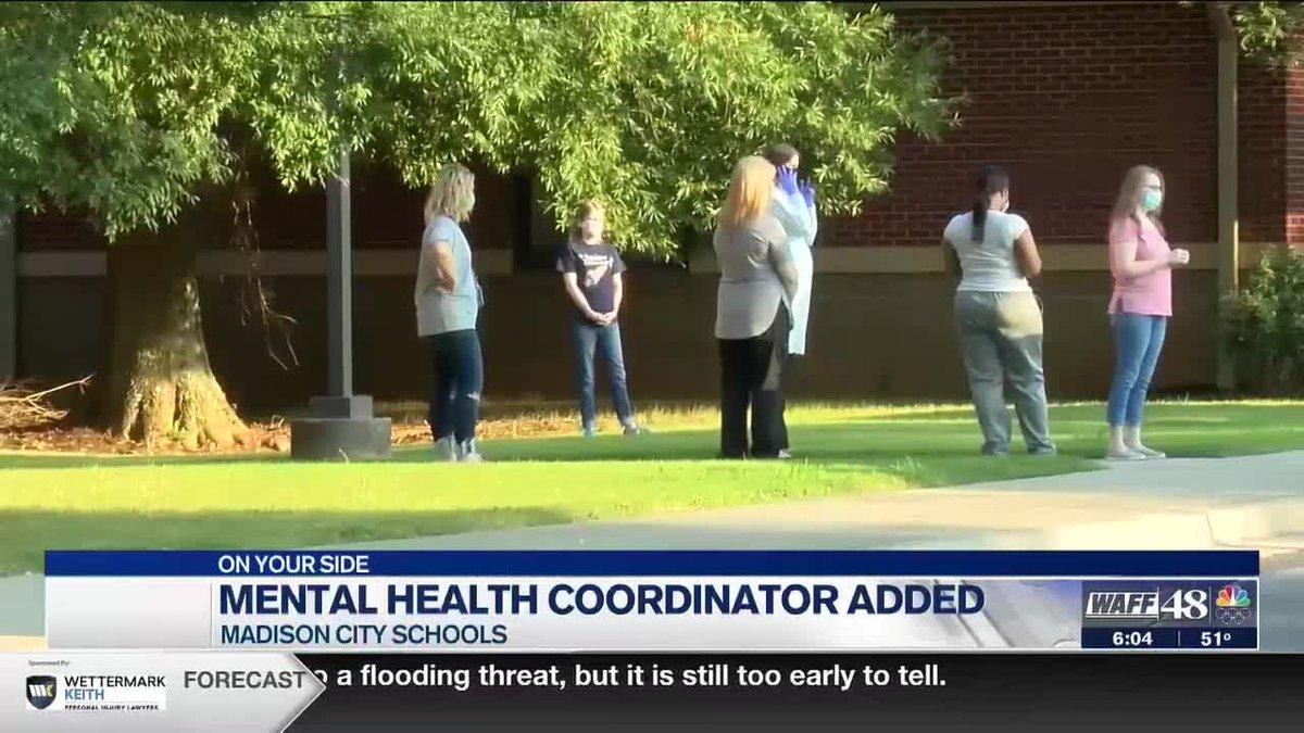 Madison City Schools now has Mental Health Coordinator