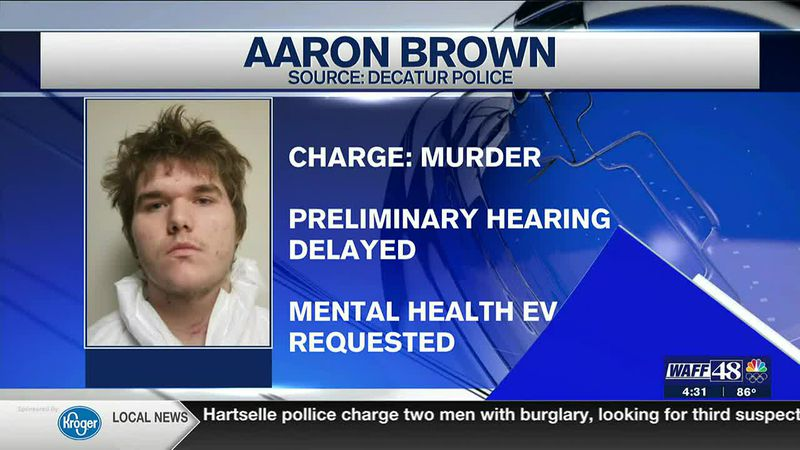 Aaron Brown will now undergo a mental health evaluation