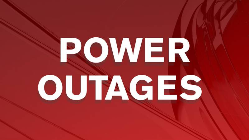 Power outages across the Tennessee Valley