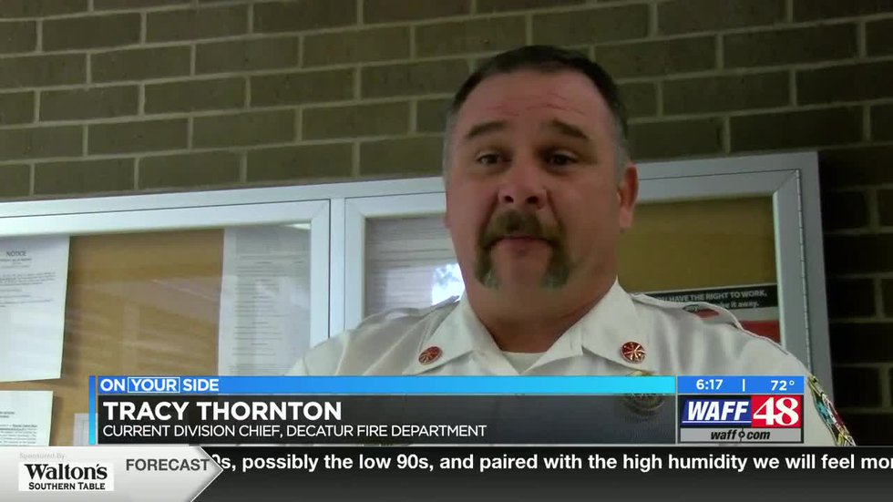 Tracy Thornton chosen as Decatur's new fire chief