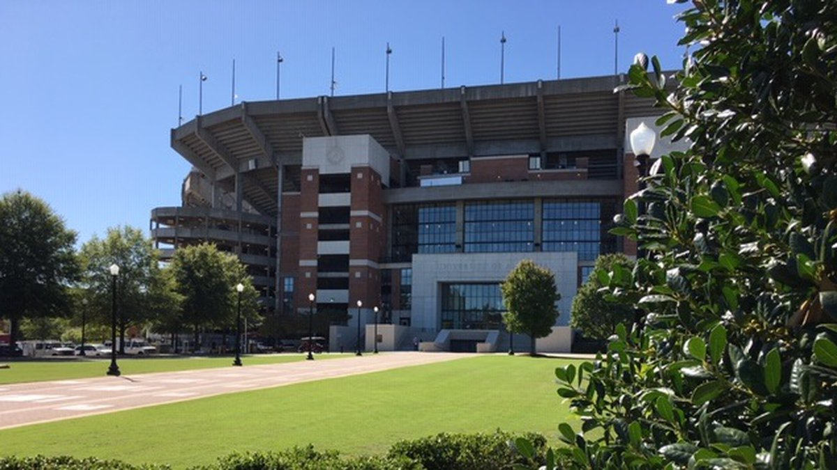 Tuscaloosa is getting fewer visitors for football games due to the pandemic.