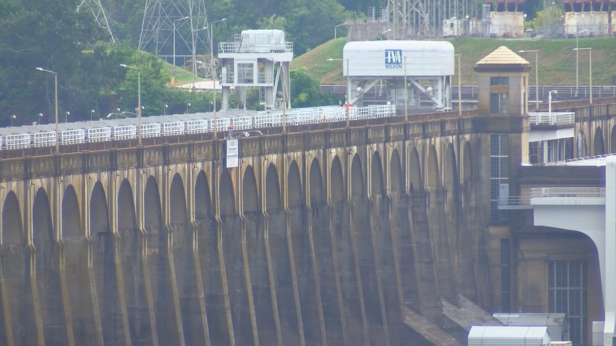 The roadway across Wilson Dam will be closed until the fall.