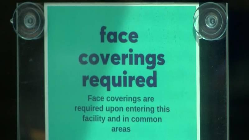 Businesses make adjustments for 1st day of Evansville's mask mandate