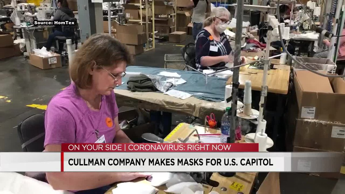 Cullman company makes masks for U.S. Capitol