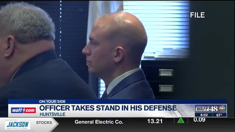 Huntsville officer takes stand in William Darby trial