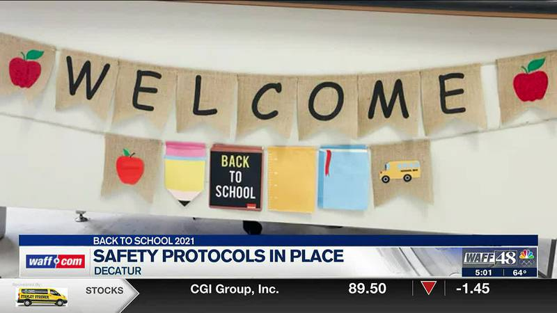 Students return to class in Decatur