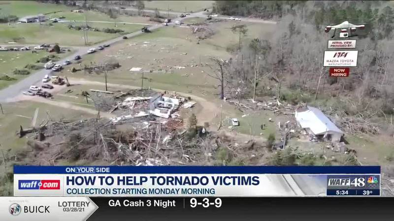 How to help recent tornado victims