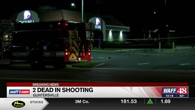 2 killed in shooting at Taco Bell in Guntersville