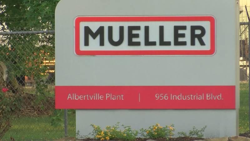 Mueller Plant in Guntersville
