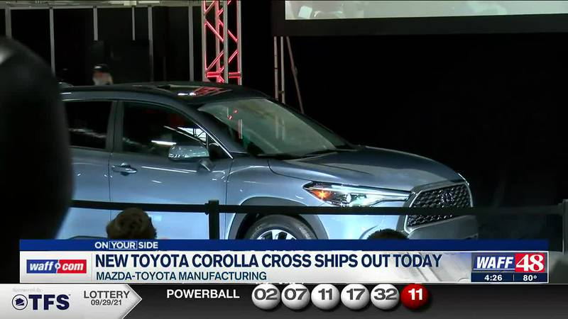 New Toyota Corolla cross ships out Sept. 30