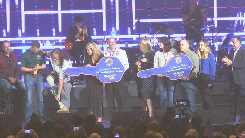 It's all thanks to country music legend Lee Greenwood, Breland Companies, and the non-profit...