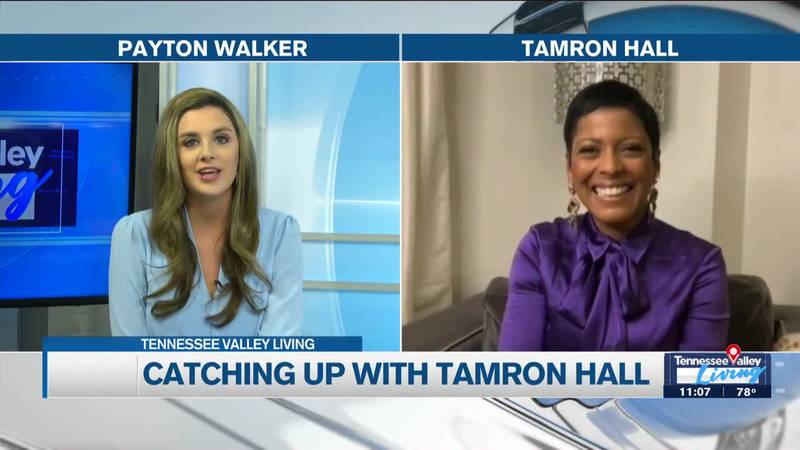 Tamron Hall joins TVL for a Friday chat