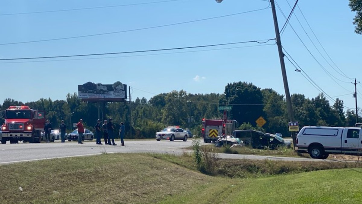 One person was killed and another injured in a car wreck in Hazel Green.