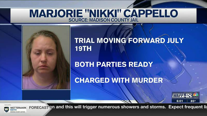 Trial date set for accused murderer, Marjorie Cappello