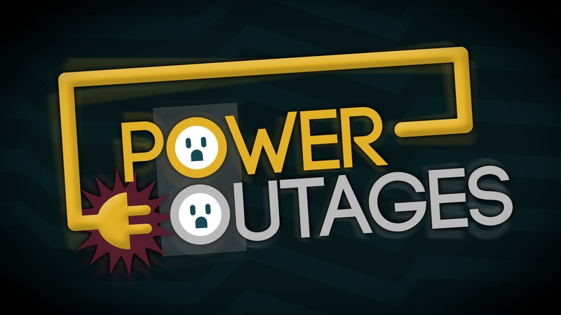 Power outages throughout Athens