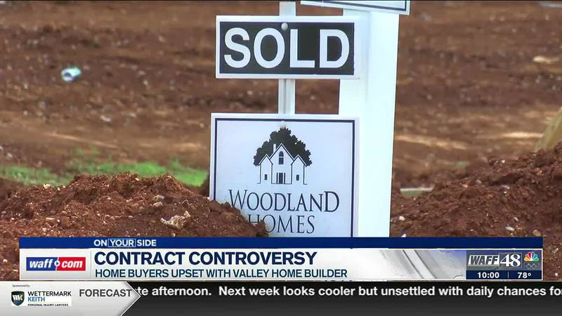 Contract Controversy: Buyers upset with a local homebuilder