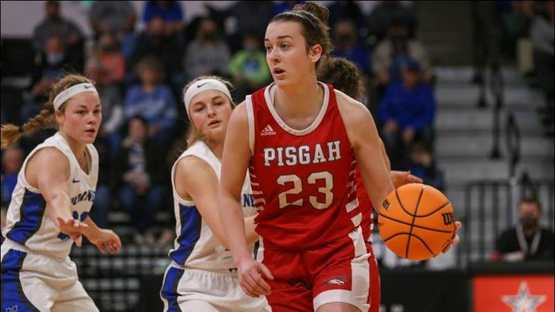Molly Heard led Pisgah to their fourth State Basketball Championship Saturday March 6th at Bill...