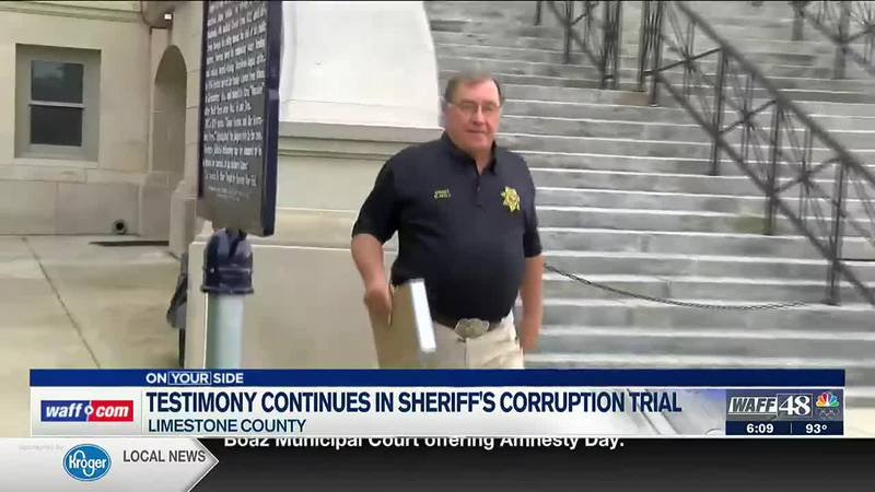 Testimony continues in sheriff's corruption trial