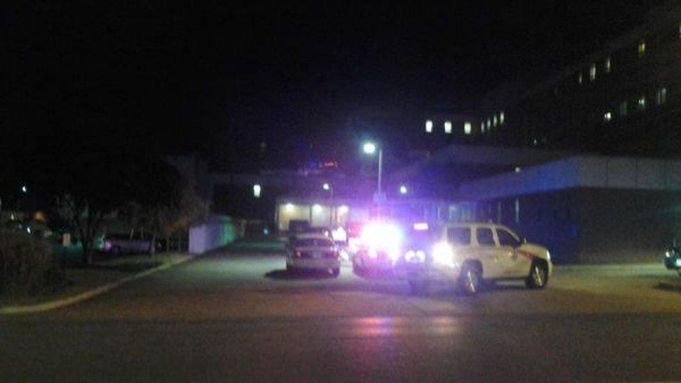 Hospital officials confirmed an employee death Wednesday.