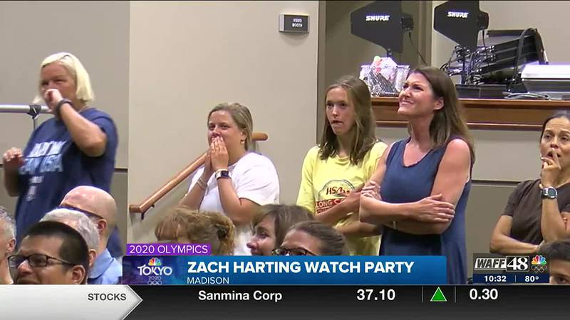 Zach Harting watch party