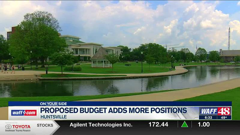 Proposed Huntsville budget adds more positions